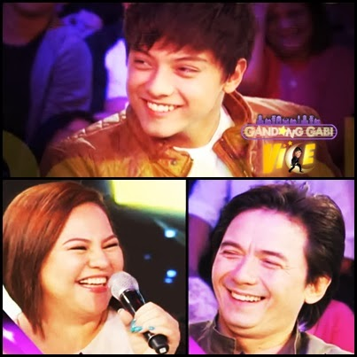 Daniel Padilla on GGV with Parents Karla Estrada and Rommel Padilla (January 26)