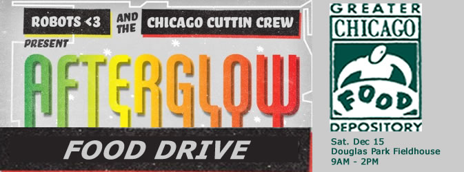 Afterglow Food Drive!
