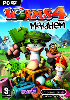 Download Worms 4 Mayhem for PC