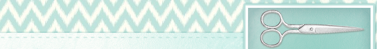sewing etsy shop banner seafoam