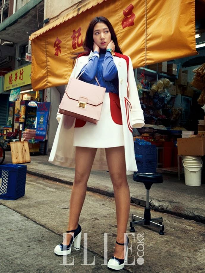 Park Shin Hye - Elle February 2014