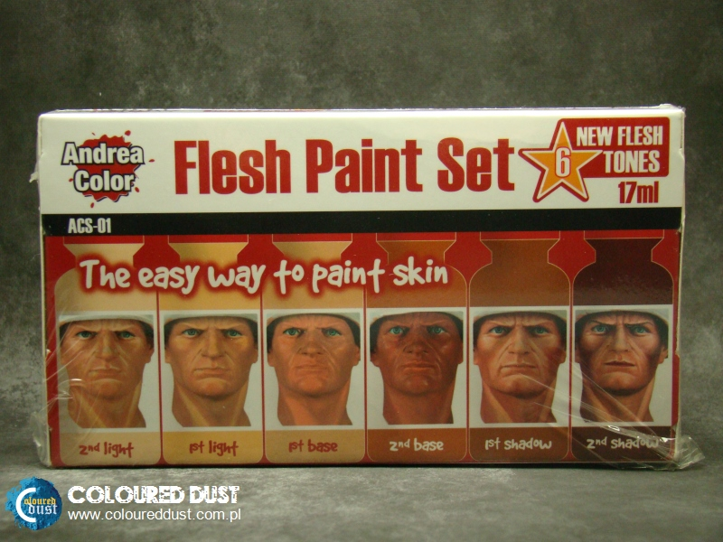 Flesh Paint Set (Andrea Color)