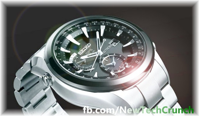 seiko new astron gps solar wristwatch