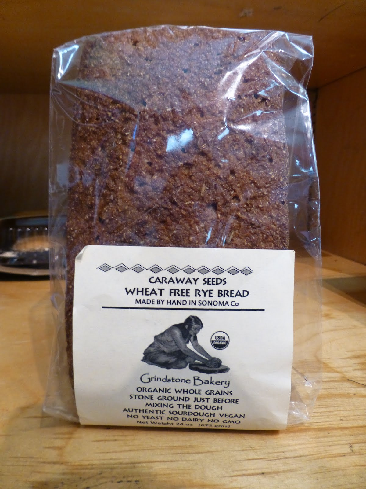 Contains Organic Whole Rye Berries Fermentation Starter Caraway Seeds And Sea Salt Thats It
