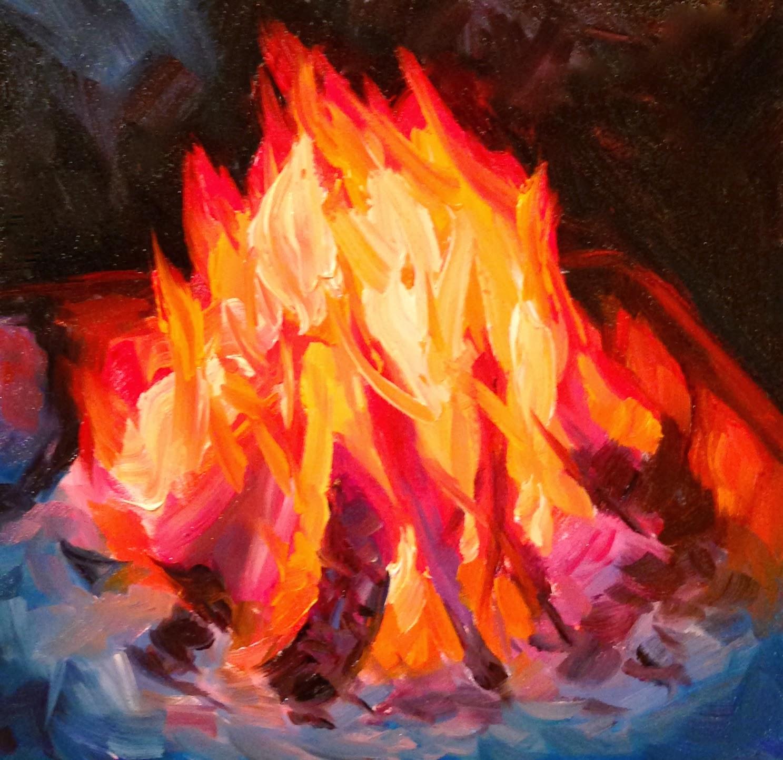 Campfire PaintingCampfire Painting