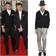 00O00 Menswear Blog Liam Payne from One Direction in Alexander McQueen gold . image