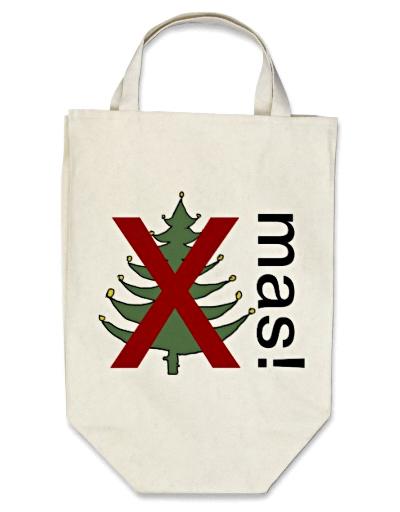 Anti xmas shopping bag - Anti-jul mulepose