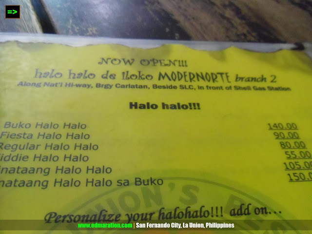 halo-halo de iloko balay la union