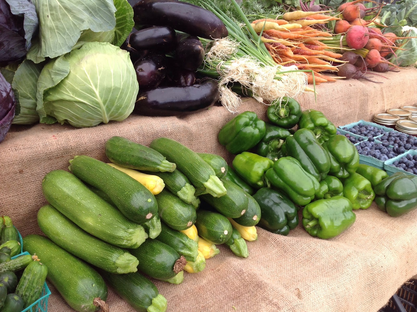 Vegetables from Fosters Family Farm at the Manotick Farmers Market