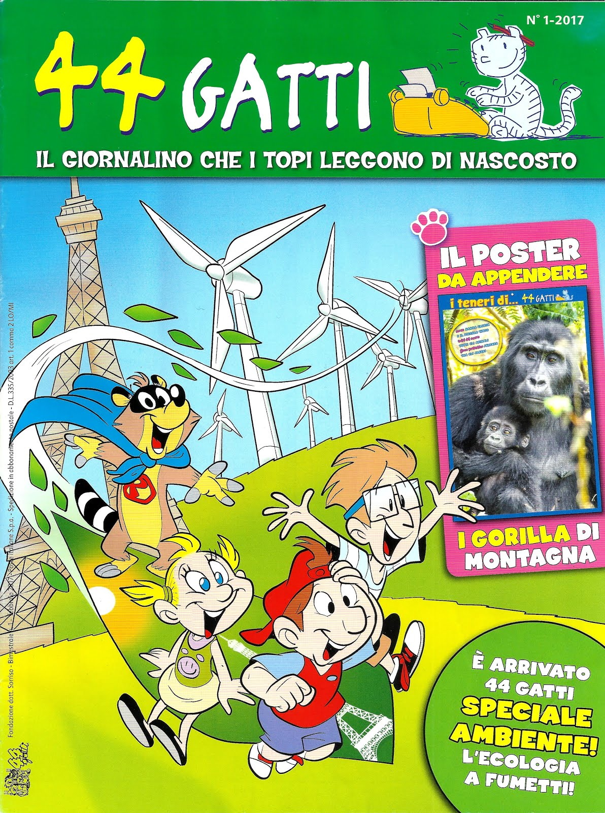 44 Gatti (Gaghi Editrice, Milano) [fumetti]