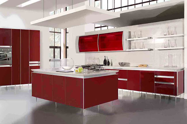 Modern Cheap Kitchen Designs Photo