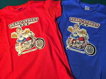 2015 Summer Shirts in at. Pearl Street Pub