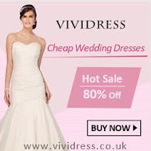 Buy cheap wedding dresses online UK at Vividress.co.uk