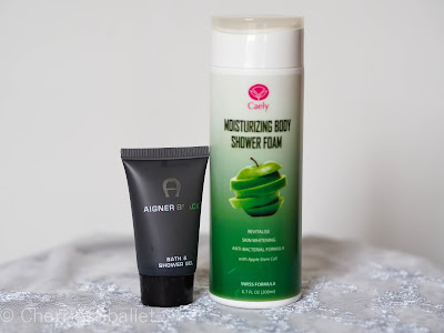 Caely Moisturising Body Shower Foam, Aigner Black Bath & Shower Gel