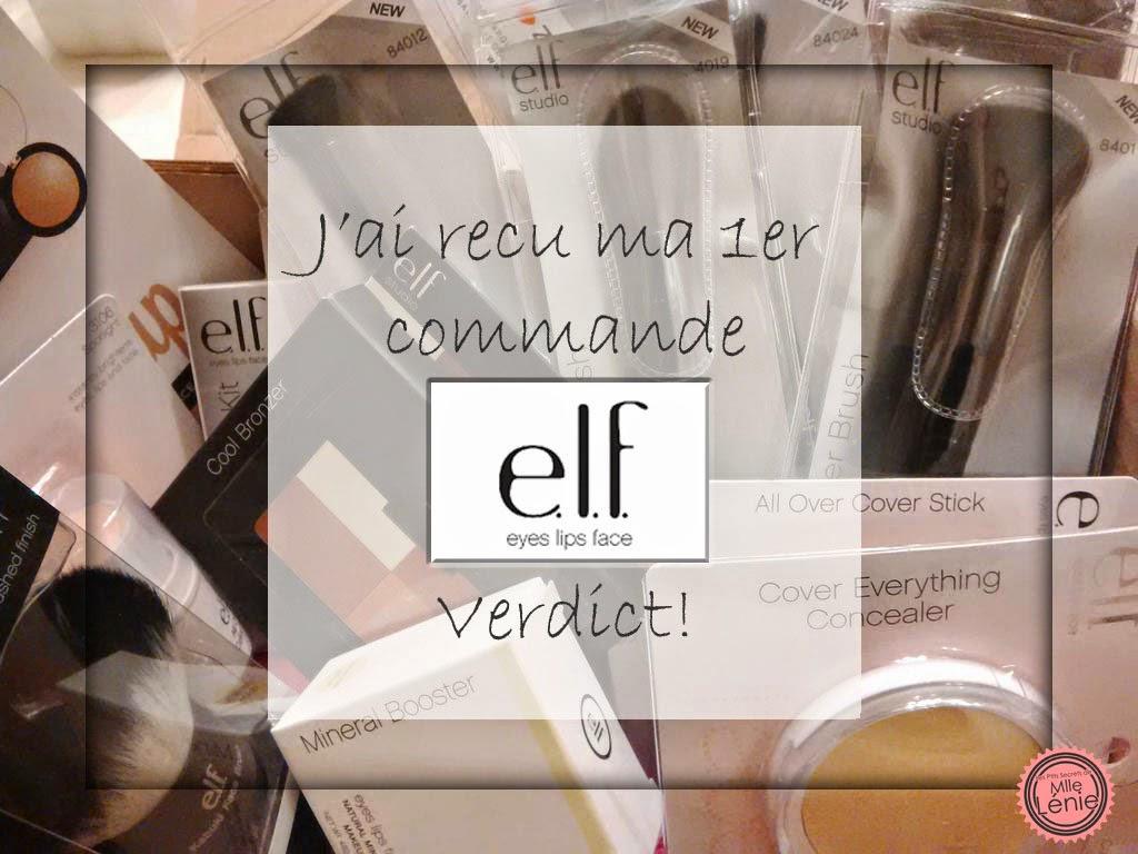 Ma 1er Commande  E.L.F, Verdict!