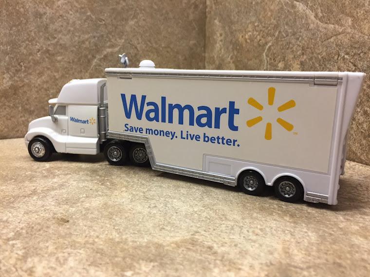 Walmart Truck. 1:43rd scale ~