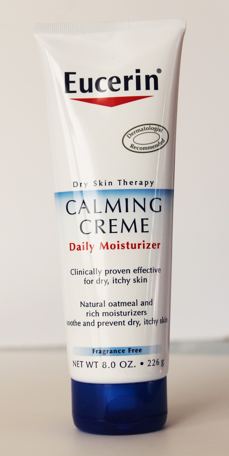 Eucerin Calming Cream, Itch Relief and Body Oil Review - MyThirtySpot