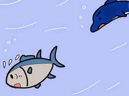 El Atún y el Delfín fábula con moraleja de Esopo