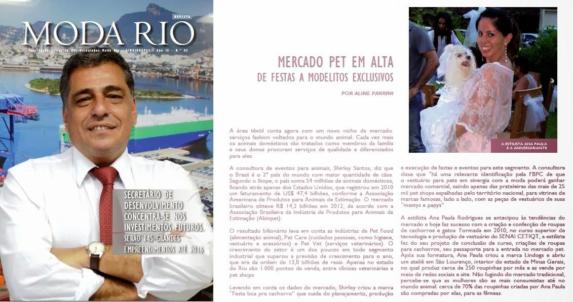 Revista Moda Rio - Senai Cetiqt