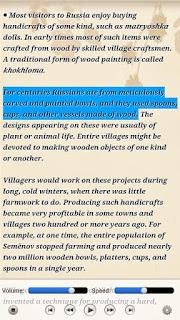 Shortcut keys to highlight text in pdf
