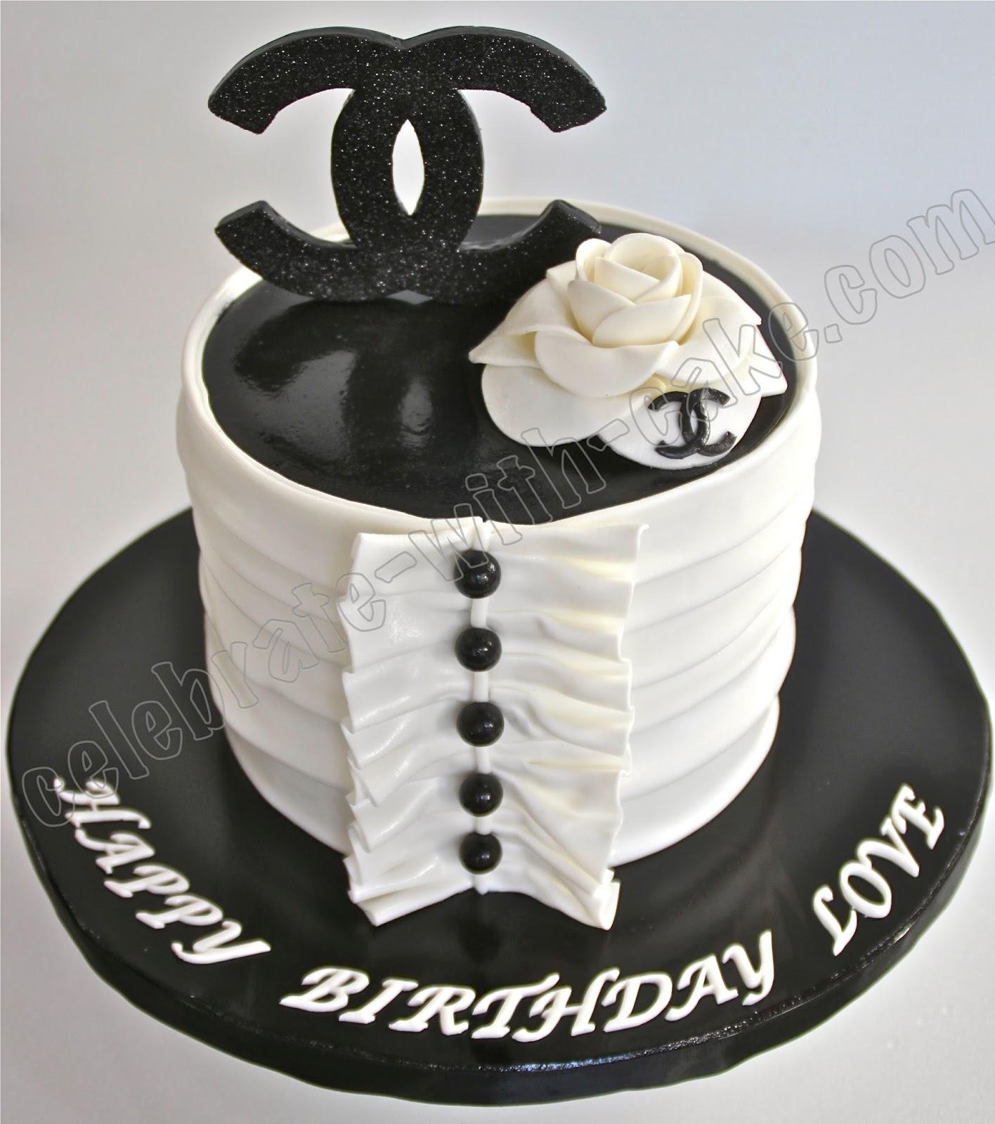 Chanel No  Cake Topper