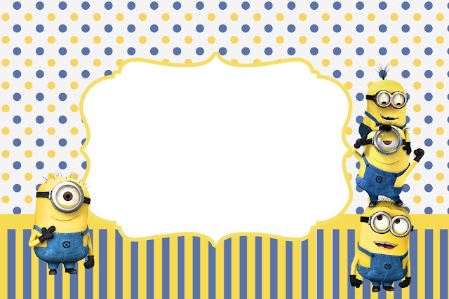 Inspired in Minions Party Invitations Free Printables Is it