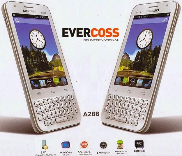 Smartphone Evercoss A28B