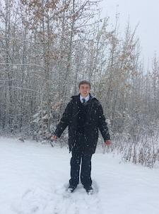 Snow in Fairbanks