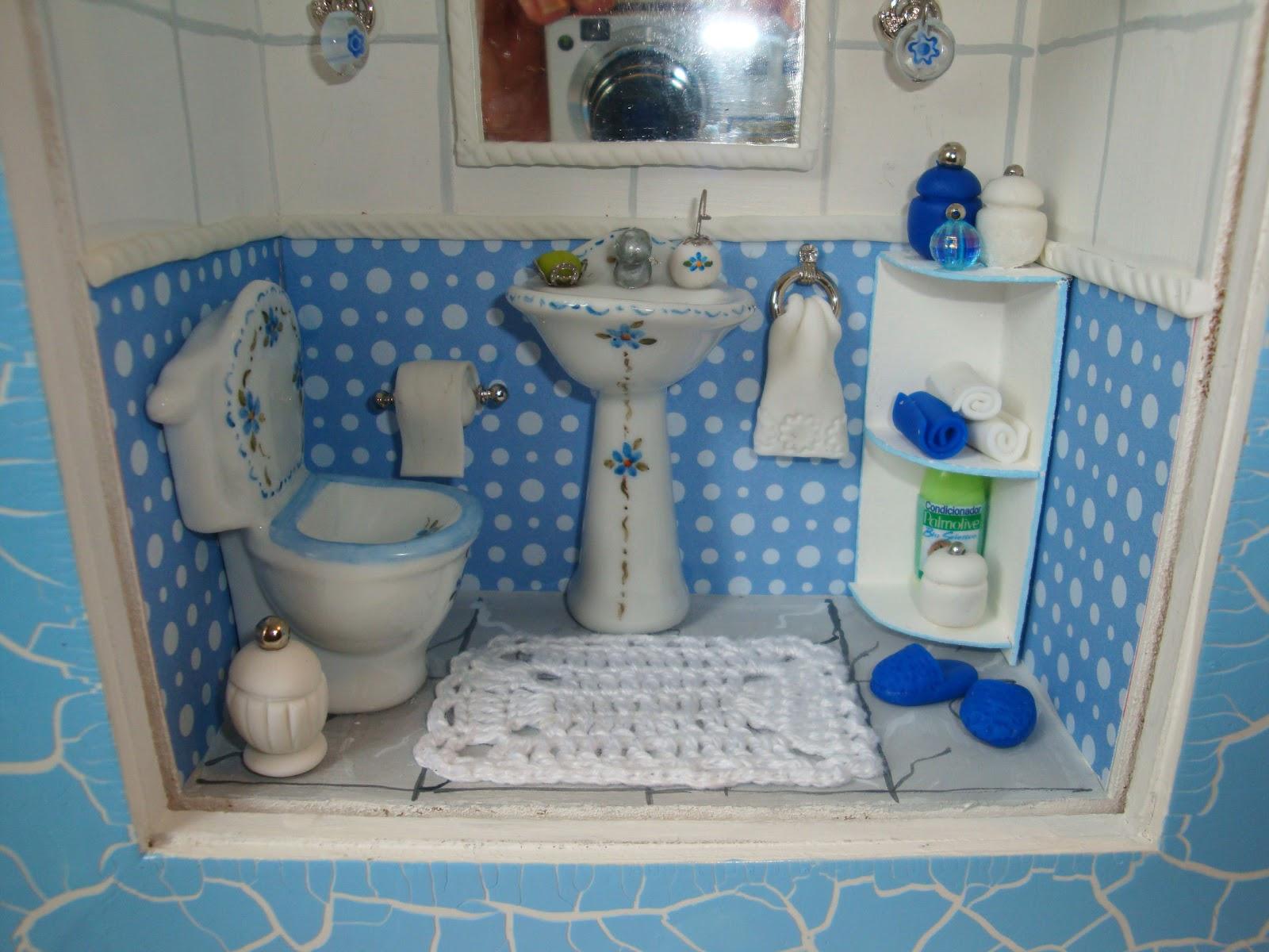 Bem me quer: Miniatura Banheiro Azul #224671 1600x1200 Azul Para Banheiro