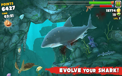 Hungry Shark Evolution v2.2.3 Unlimited Money & Jewels Hack
