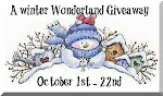 A Winter Wonderland Giveaway