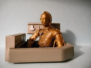 figura oficial de star wars droide C3-PO