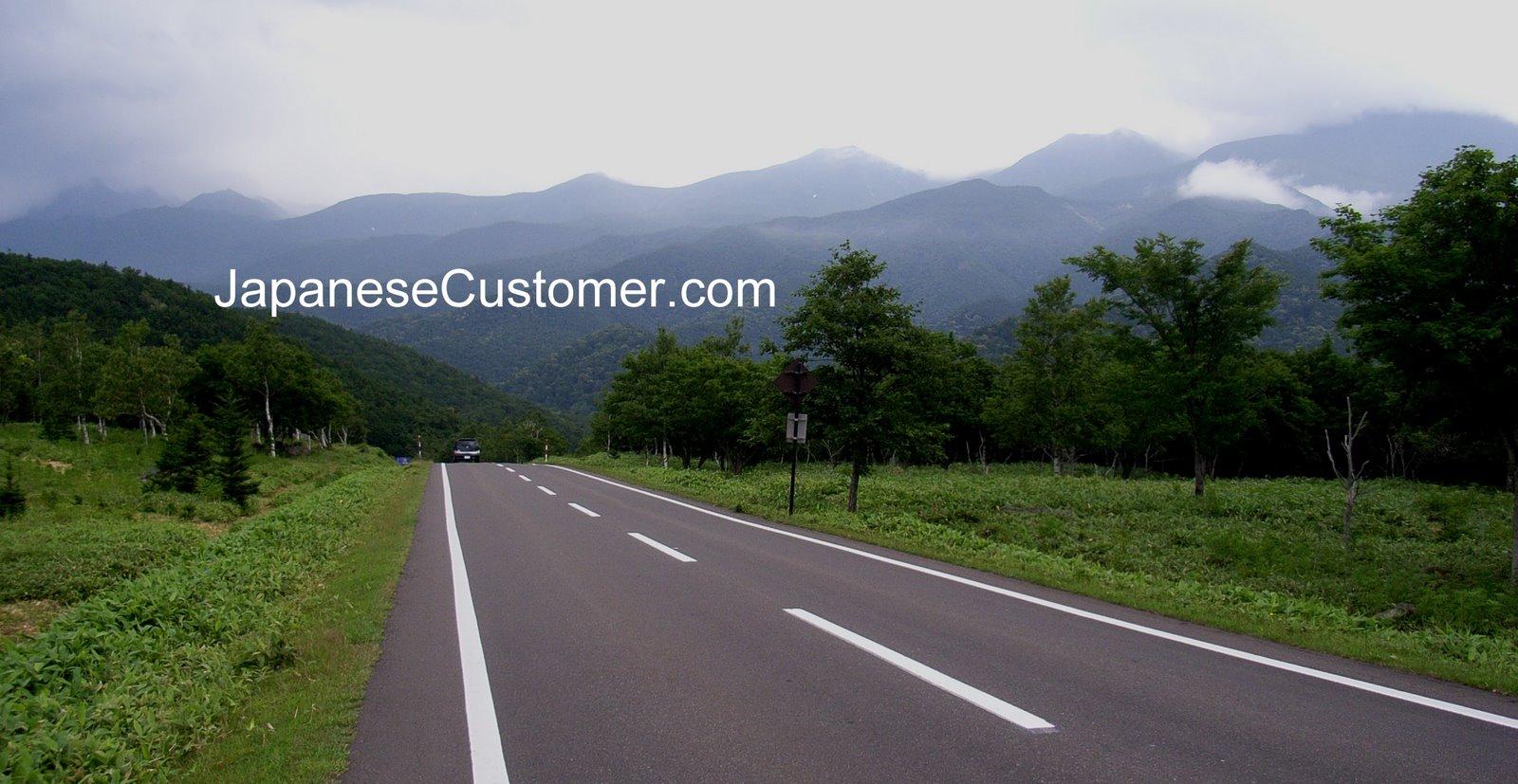 Highway in Japan Copyright Peter Hanami 2014