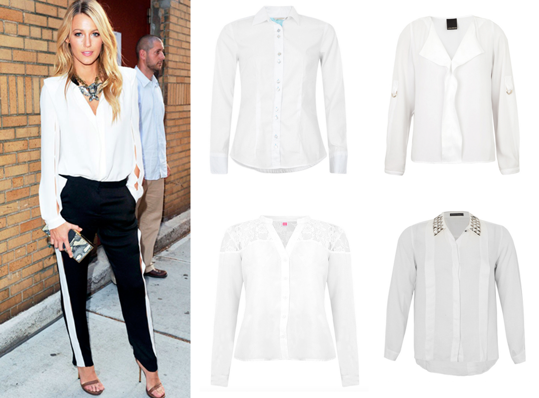 camisa branca, peça, curinga, guarda-roupa