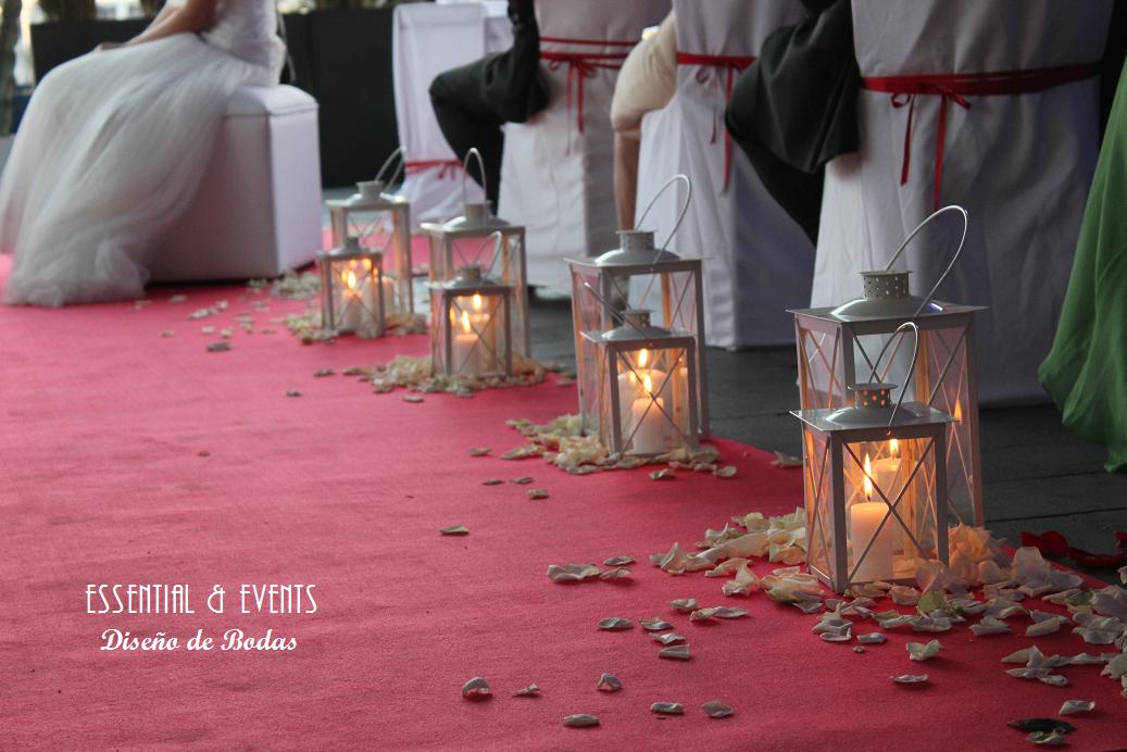 Bodas a medida decoraci n minimalista para una boda en for Decoracion bodas valencia