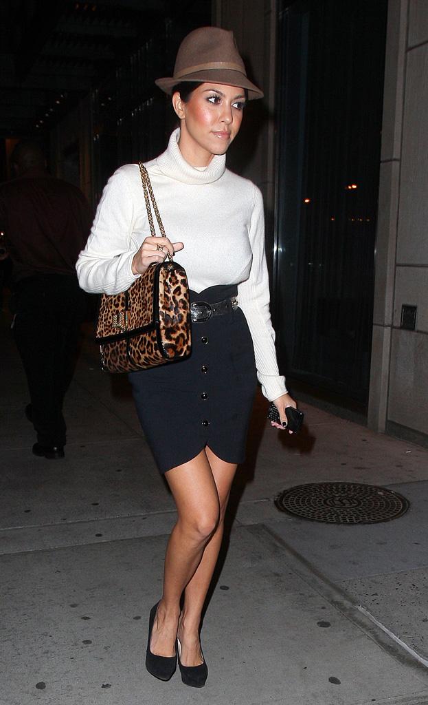 Fashion Oulala Celebrities The Popular Leopard Print Bag