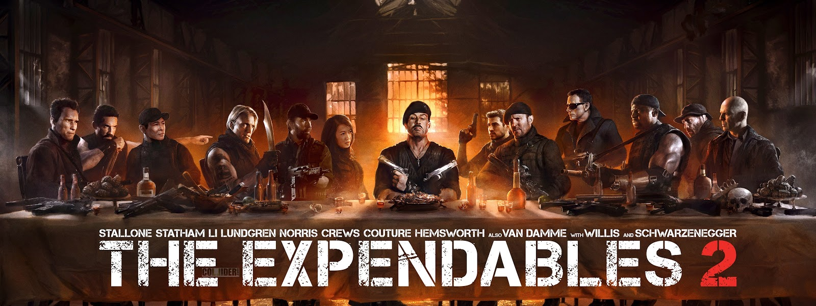 expendables 2 the last supper wallpapers - DriverLayer ...