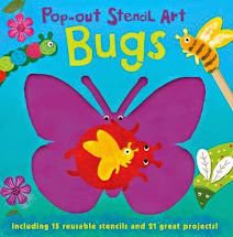 Pop out Stencil Bugs