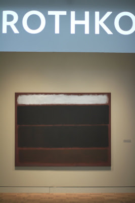 Rothko: Portland Art Museum Entrance