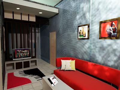 richy properti desain menata ruang tamu yang sempit