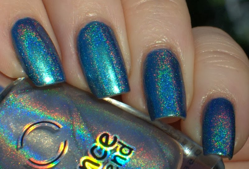 Chanel Azure with Dance Legend Top Prismatic Top coat