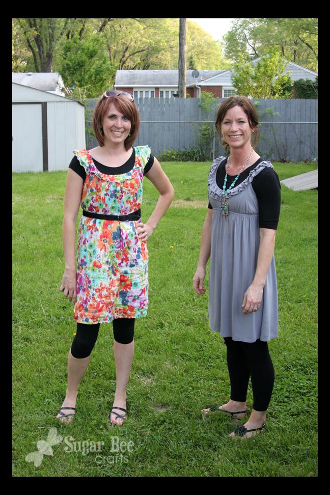 wiww dress leggings sugar bee crafts