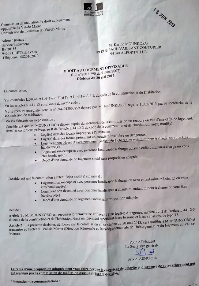 Proposition Logement Caf