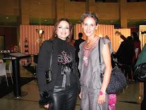 Con Carla de Bulgaria en Beauty Fever I Diciembre-2011