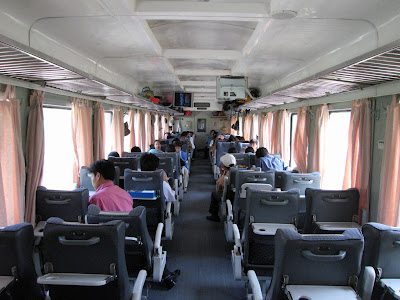 Soft seating train to Sapa