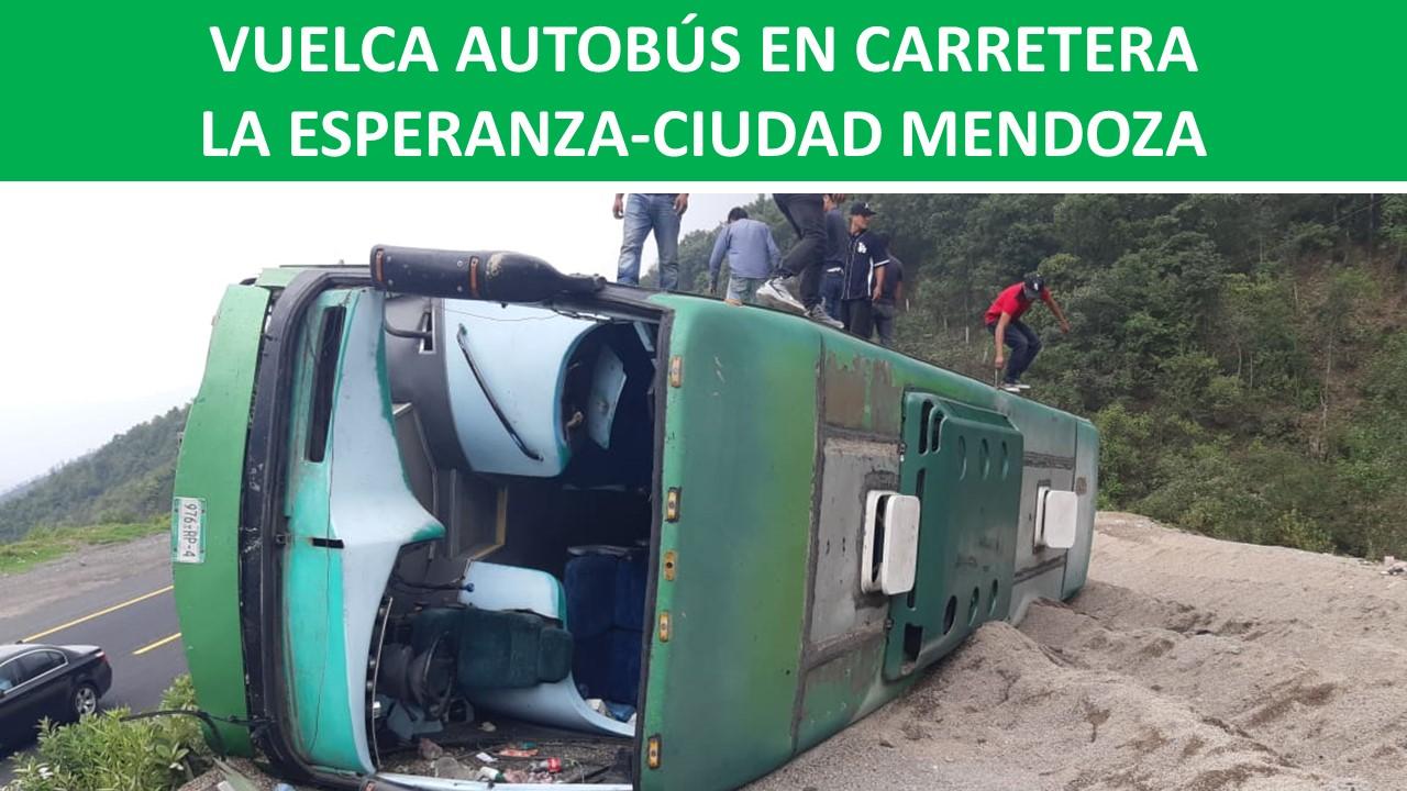 CARRETERA LA ESPERANZA-CIUDAD MENDOZA