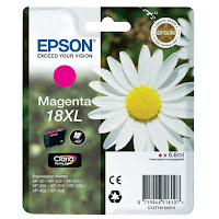 Cartucho Epson T1813 tinta magenta XL