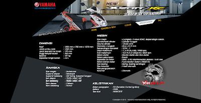 Spesifkasi Yamaha Xeon RC Injeksi 2013