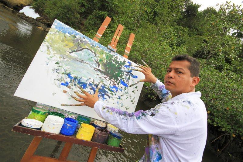 artista emergente:MARCOS UNIGARRO