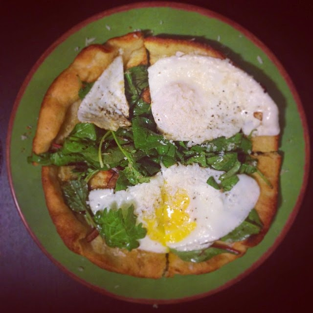 Meatless Monday: Sunny-Side-Up Pizza